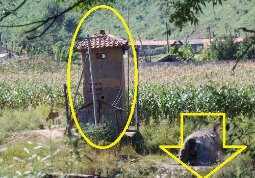 Сторожевая будка и сторожевой шалаш для охраны урожая