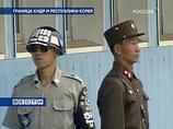 Солдат Южной Кореи и Северной Кореи