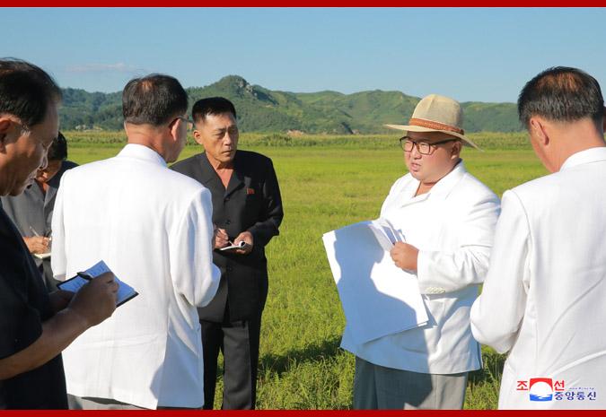 Ким Чен Ын на Онпхоской тепличной ферме 3