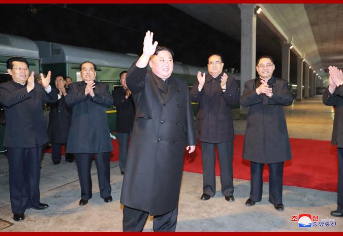 Ким Чен Ын отправился с визитом в Россию 4