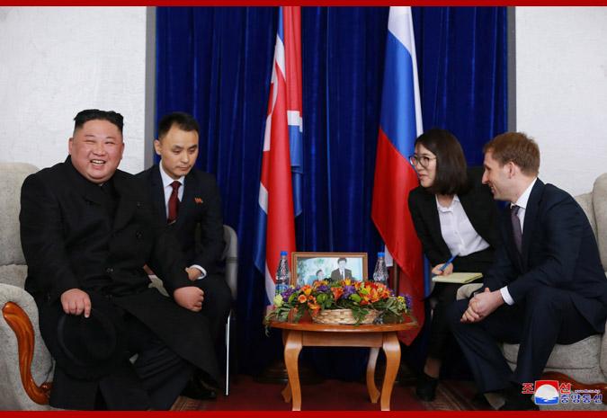 Ким Чен Ын прибыл во Владивосток 10