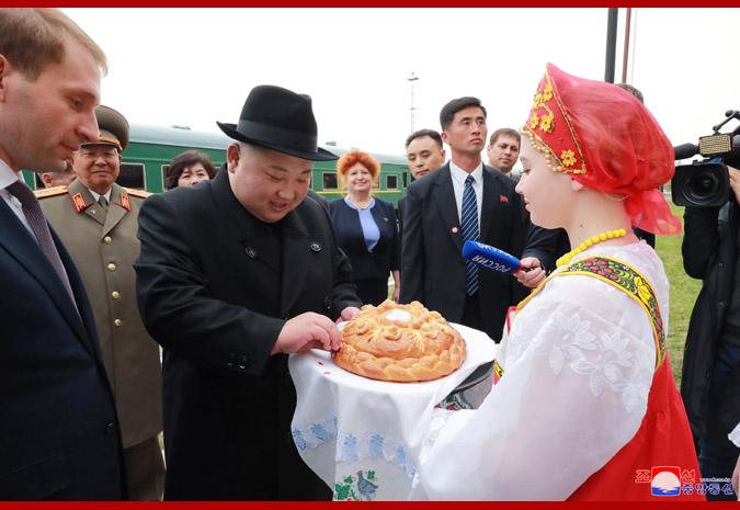 Ким Чен Ын прибыл во Владивосток 3
