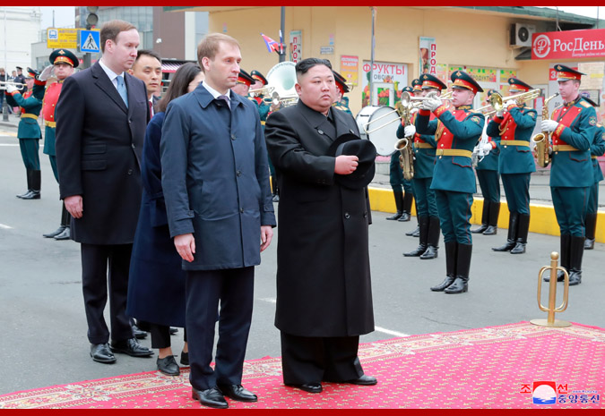 Ким Чен Ын прибыл во Владивосток 4