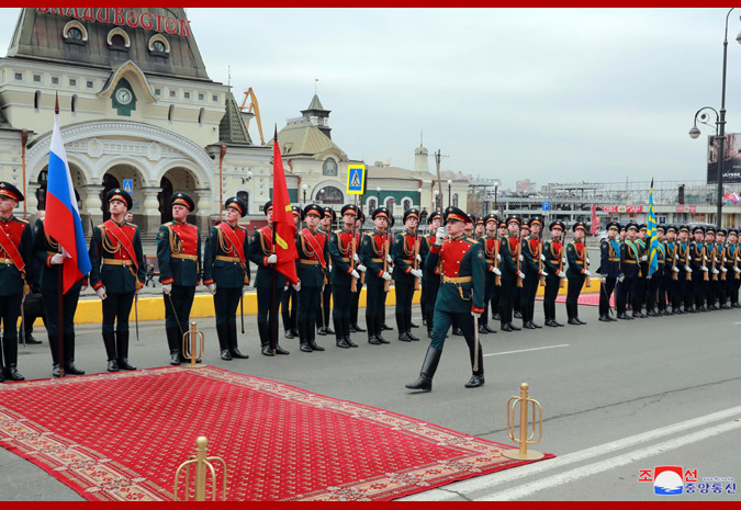 Ким Чен Ын прибыл во Владивосток 5