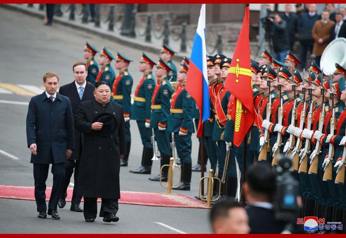 Ким Чен Ын прибыл во Владивосток 6