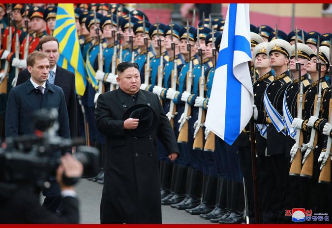 Ким Чен Ын прибыл во Владивосток 7