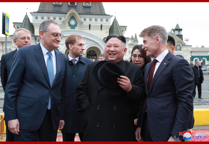 Ким Чен Ын прибыл во Владивосток 9