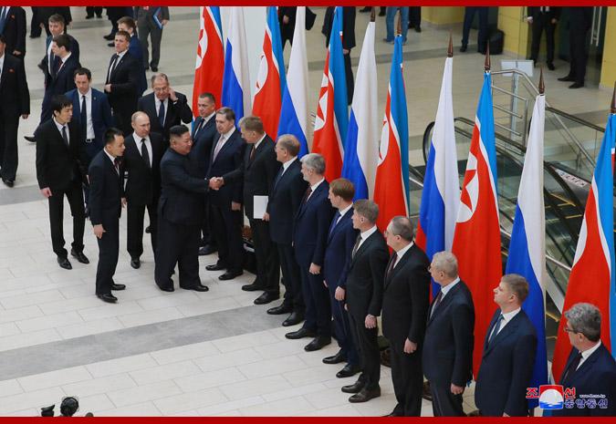 Ким Чен Ын встретился с Путиным 5