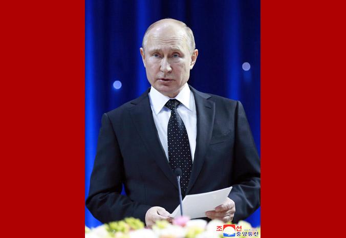 В честь Ким Чен Ына Путин устроил прием 1