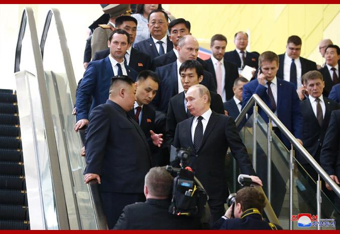 В честь Ким Чен Ына Путин устроил прием 11