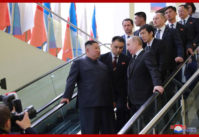 В честь Ким Чен Ына Путин устроил прием 12