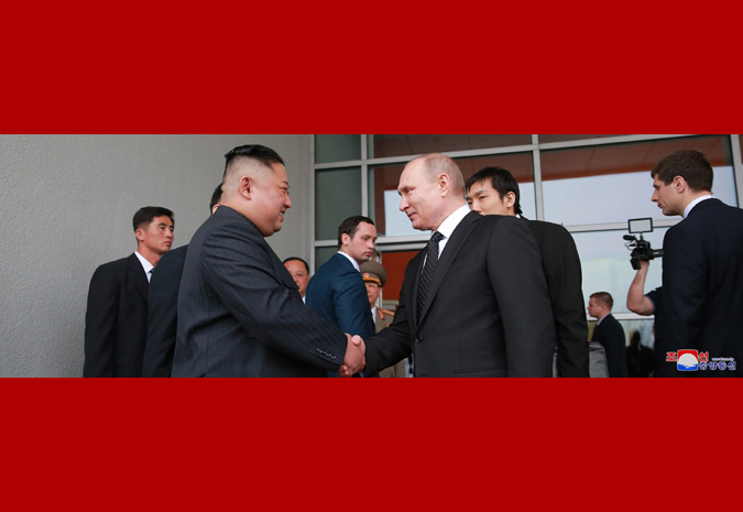 В честь Ким Чен Ына Путин устроил прием 13