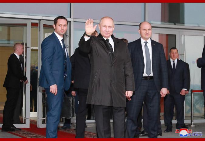 В честь Ким Чен Ына Путин устроил прием 14