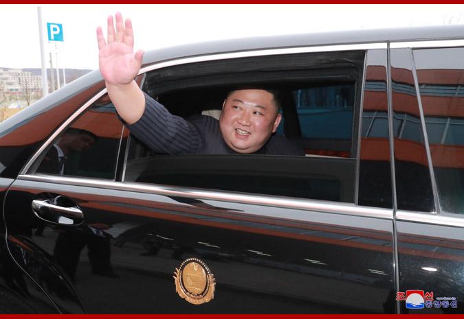 В честь Ким Чен Ына Путин устроил прием 15