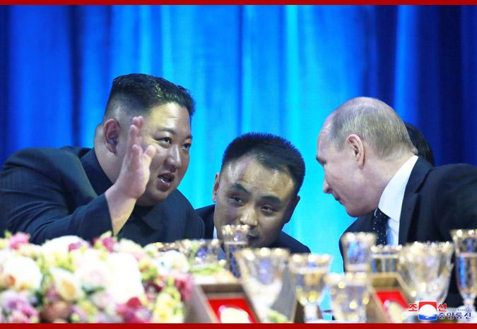 В честь Ким Чен Ына Путин устроил прием 4
