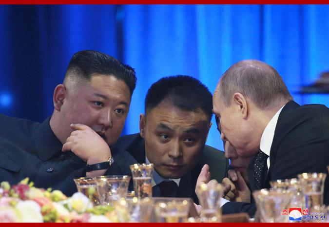В честь Ким Чен Ына Путин устроил прием 6